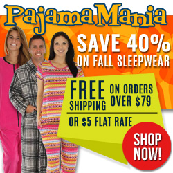 Save 40% at PajamaMania.com