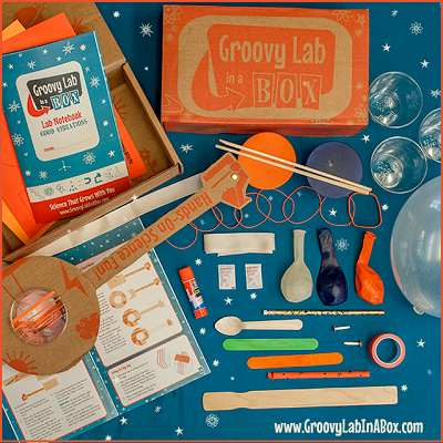 Best Subscription Boxes for Kids Groovy Lab in a Box-Kids Are A Trip