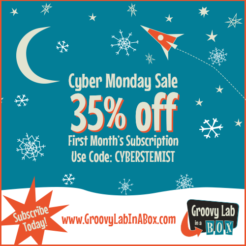Cyber Monday Sale 2014 Groovy Lab in a Box