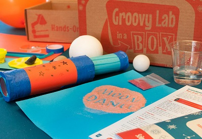 Groovy Lab in a Box: Science Experiment Subscription Box