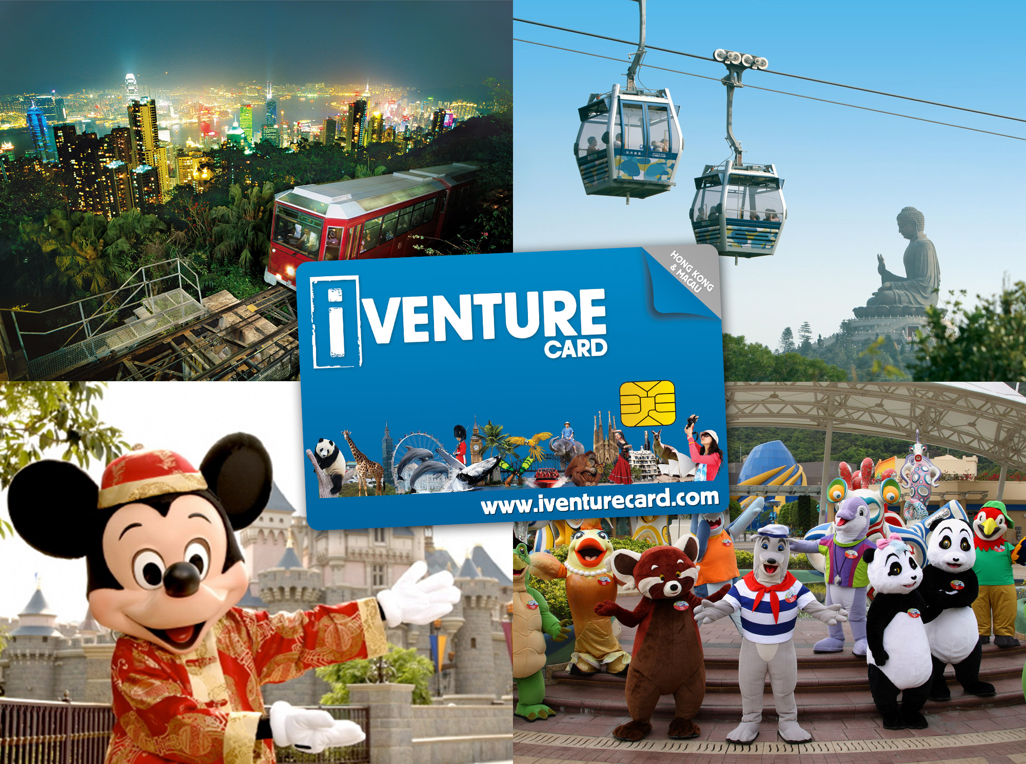 Save up to 50% on Hong Kong and Macau's top attractions