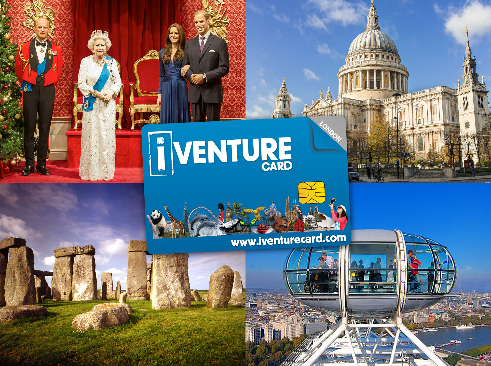 Save more than 40% on London's top attractions