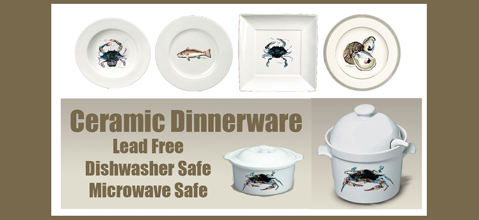 Microwavable and Dishwasher safe dinnerware!