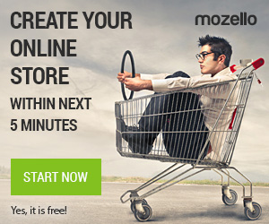 Create your online store within next 5 minutes