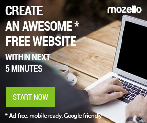 Mozello.com - create an awesome website within next 5 minutes