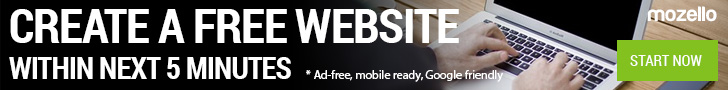 Mozello - Create a free website within the next 5 minutes