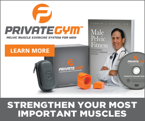 The first FDA Registered exercise program that helps strengthen a man's most important muscle system.  100% Satisfaction Guarantee. Learn more at PrivateGym.com!
