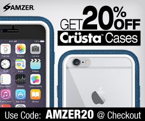Get 20% OFF on All CRUSTA Cases, Use Code AMZER20