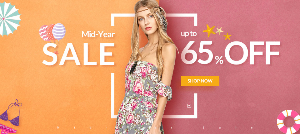 Mid-Year Sale: Up to 65% OFF and Save More with Coupon