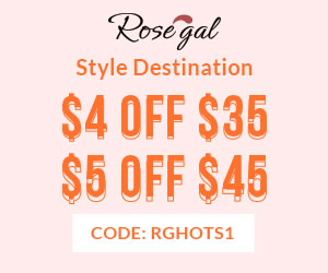 Rosegal Hot Sale Shop: 35-4, 45-5 + FREE SHIPPING