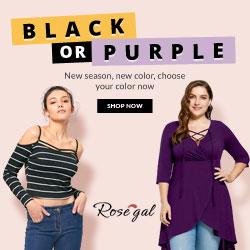 Black or Purple: New Season New Color