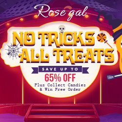 No Tricks All Treats: Save Up to 65% OFF for Halloween