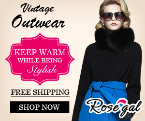Chic Outwear at RoseGal.com! Keep Stylish While Being Warm! All Free Shipping!