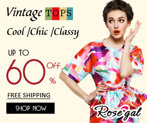 Cool, Chic and Classy Tops at RoseGal.com! UP to 60% OFF! Plus Free Shipping!