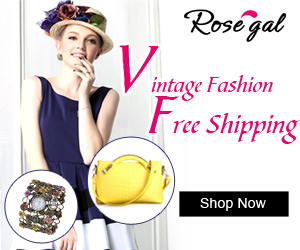 Free Shipping for All at RoseGal.com! Shop Easily for Vintage Apparels and Accessories!
