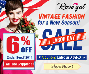 Labor Day 6% OFF Coupon: LabourDayRG. (Ends: Sep.7.2014)