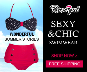Enjoy Sunshine: UP to 50% OFF + Free Shipping for Sexy Swimwear @rosegal