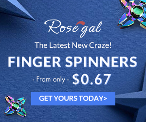"Finger Spinners & Home: From only $0.67 save more with coupon ""FingerGyro""+ FREE SHIPPING"