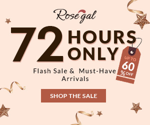 72 Hours only: Up to 60% OFF and Free Shipping