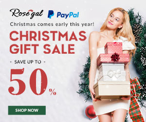 Christmas Gift Sale: Save Up to 50% + Free Shipping