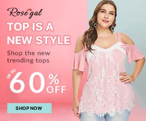 BUY 1 GET 15% OFF,BUY 2 GET 20% OFF,BUY 3 GET 25% OFF for lace style at Rosegal.com. Ends: 8/13/2018