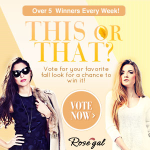 This or That? Vote for Your Favorite Fall Look and Win it for Free!