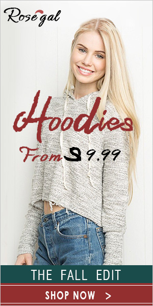 Hoodies from $9.99 at rosegal. Big saving for you! Shop now!