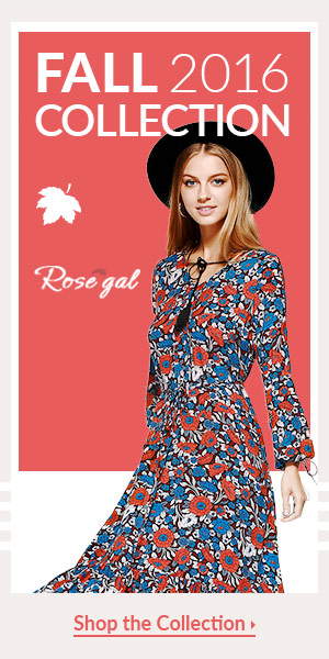Enjoy 56% OFF for finding new arrival at rosegal.com