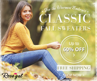 UP to 60% OFF + Free Shipping for Essential Stylish Women's Sweaters!
