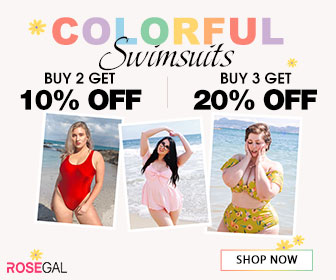 Colorful Swimwears--Buy 2 Get 10% Off?Buy 3 Get 20% Off
