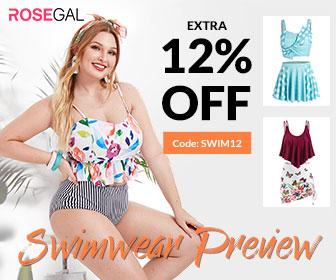 12% Off ROSEGAL Swimwear Preview