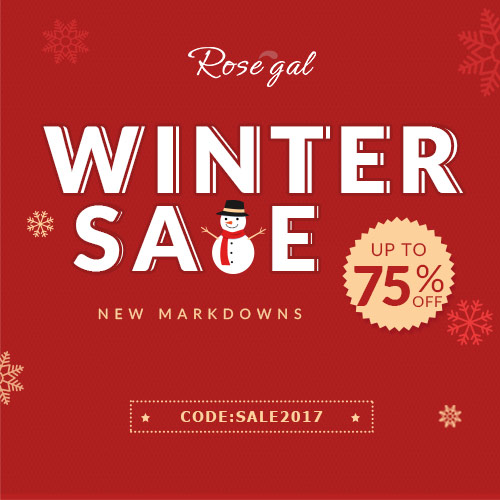 Winter Sale: New Markdowns Up to 75% OFF