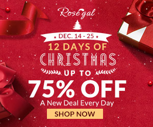 12 DAYS OF CHRISTMAS: UP TO 75% OFF