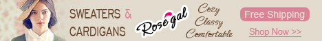 Stylish Sweaters and Cardigans at RoseGal.com! Cozy, Classy and Comfortable! All Free Shipping!