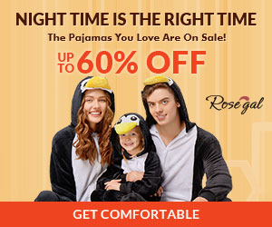 Rosegal Pajamas: Up to 60% OFF + Free Shipping