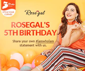 Rosegal 5th Anniversary:                                     Win $500 Coupons