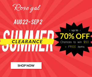 Summer Clearance: Up to 70% OFF and chance to win FREE items