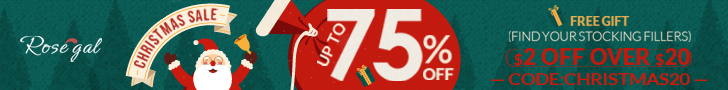 Hot for the holiday and up to 75% OFF