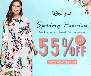 Spring Preview: Up to 55% OFF+FREE SHIPPING