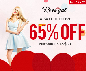 Valentine's Day Sale: Up to 65% OFF