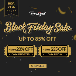 Black Friday Sale: Up to 85% OFF+Extra OFF with coupon