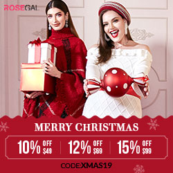 Rosegal Christmas Sale! Up to 70% OFF