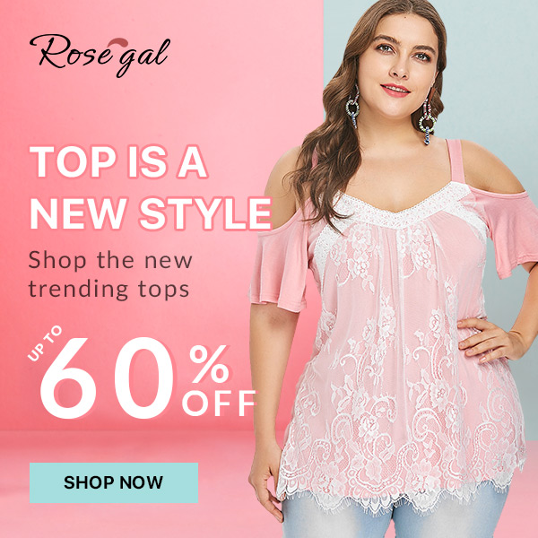 BUY 1 GET 15% OFF,BUY 2 GET 20% OFF,BUY 3 GET 25% OFF for lace style at Rosegal.com. Ends: 8/13/2018