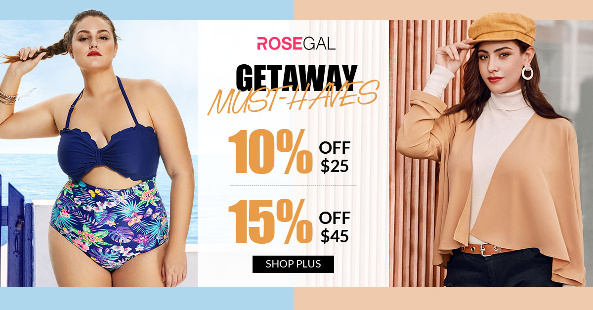 Getaway Must-Haves, 10% OFF $25+, 15% OFF $45+