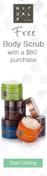 Free Body Scrub with $60 Purchase at RITUALS...