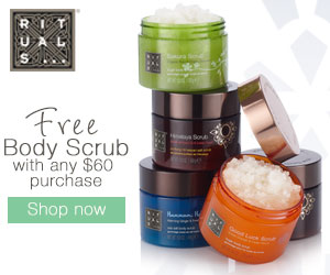 Free Body Cream with $50 Purchase at RITUALS...