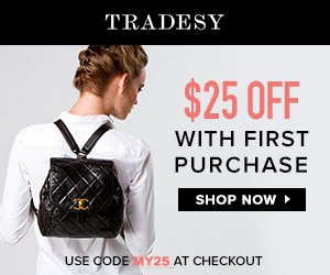 Up to 90% off Lustworthy Designer Brands at Tradesy!