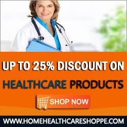 Up to 25% off Healthcare Products