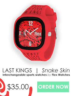 Snake skin watch, $35, direct product ad