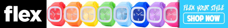 Interchangeable watches for a cause by Flex